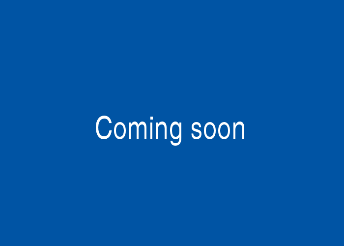 a blue background with the words 'coming soon' in white text in the middle
