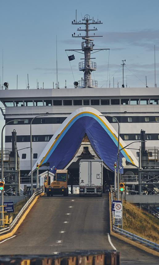 Marine Atlantic Ship Entrance